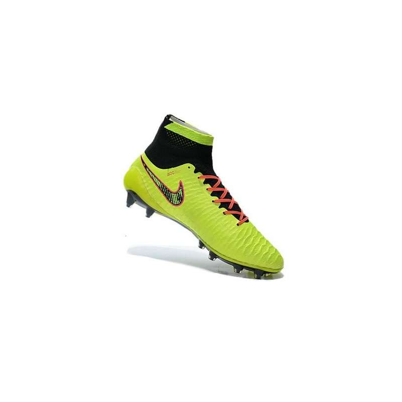 Magista Fg Scarpe Nuovo Nero Verde Arancio Acc Obra 2015 Calcio Nike gqFw66