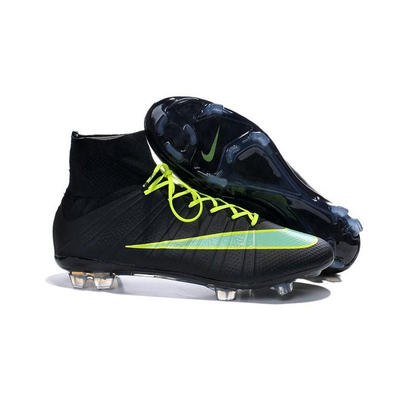 Scarpe da Calcio Nike Mercurial Mercurial Mercurial Superfly FG ACC Uomo Nero Verde 7cbf67