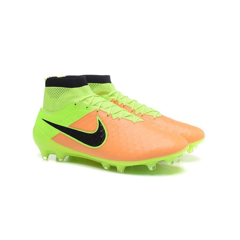 watch c9fb5 b2e2d Calcio Obra Volt Fg Nuovo Acc Nike Scarpe Magista Giallo Nero xxqOP87