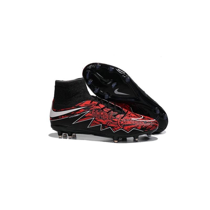 b1082e1de8c98 Scarpa Calcio Robert Lewandowski Nike Hypervenom Phantom 2 Terreni Duri FG  Rosso Nero Vedi a schermo intero. Precedente. Successivo