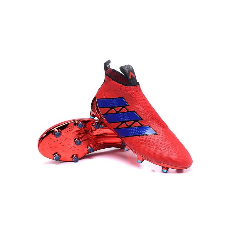 cheaper f9d98 c6475 ... ireland scarpa da calcetto uomo adidas ace16 purecontrol fg ag rosso  blu 0cfc1 b7872