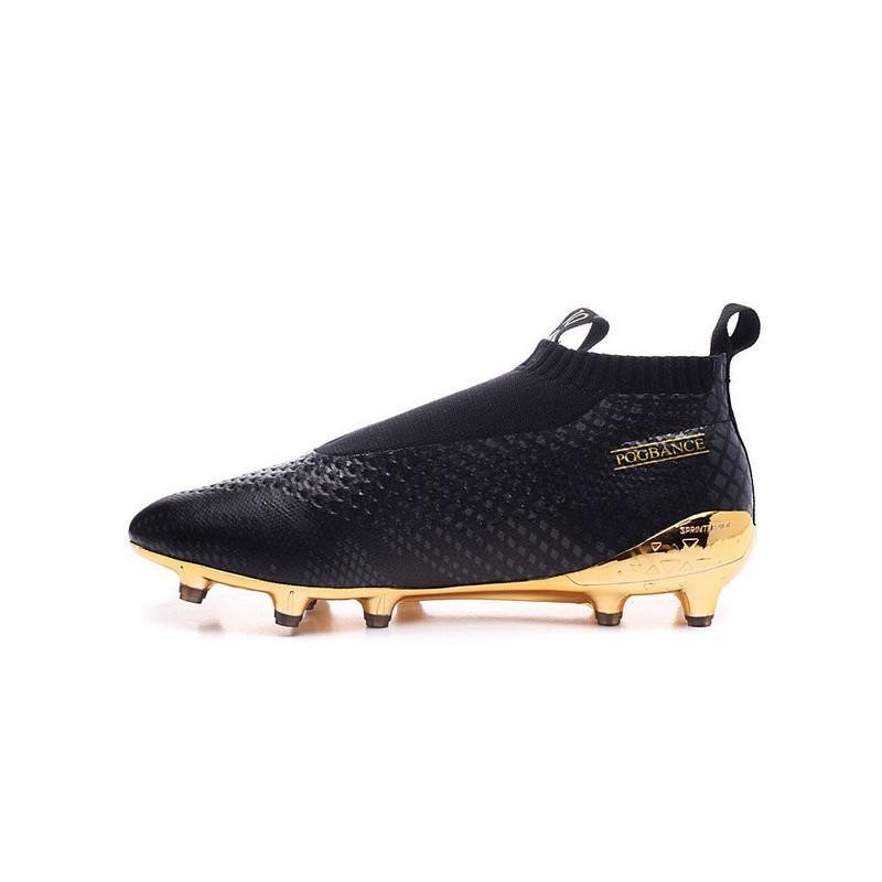scarpe calcio adidas senza lacci oro