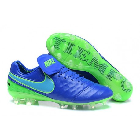 Fg Scarpa Tiempo Con Nike Verde Nuovi Legend Tacchetti Vi Calcio Blu y8Pnvw0mNO