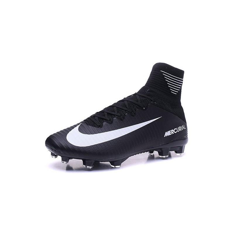 b685fbe0a ... discount scarpini da calcetto nike mercurial superfly v fg acc nero  bianco vedi a schermo intero