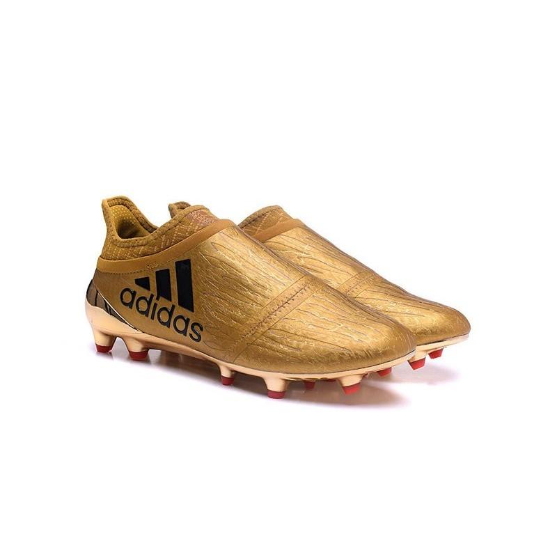 the latest 02654 8abf4 scarpe-da-calcio-2016-adidas-x-16-purechaos-fg-oro-nero.jpg