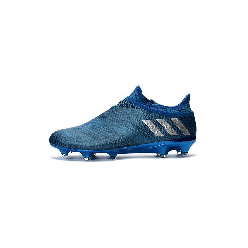 Adidas Scarpa Fg Messi 16 Calcio Blu Metallico Pureagility Da Uomo zaP6x7q