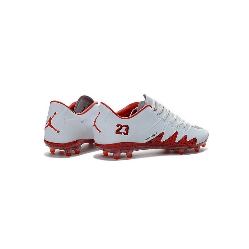 wholesale dealer fae90 c2097 Scarpe da Calcio Nike Hypervenom Phinish Neymar x Jordan FG Bianco Rosso  Vedi a schermo intero. Precedente · Successivo