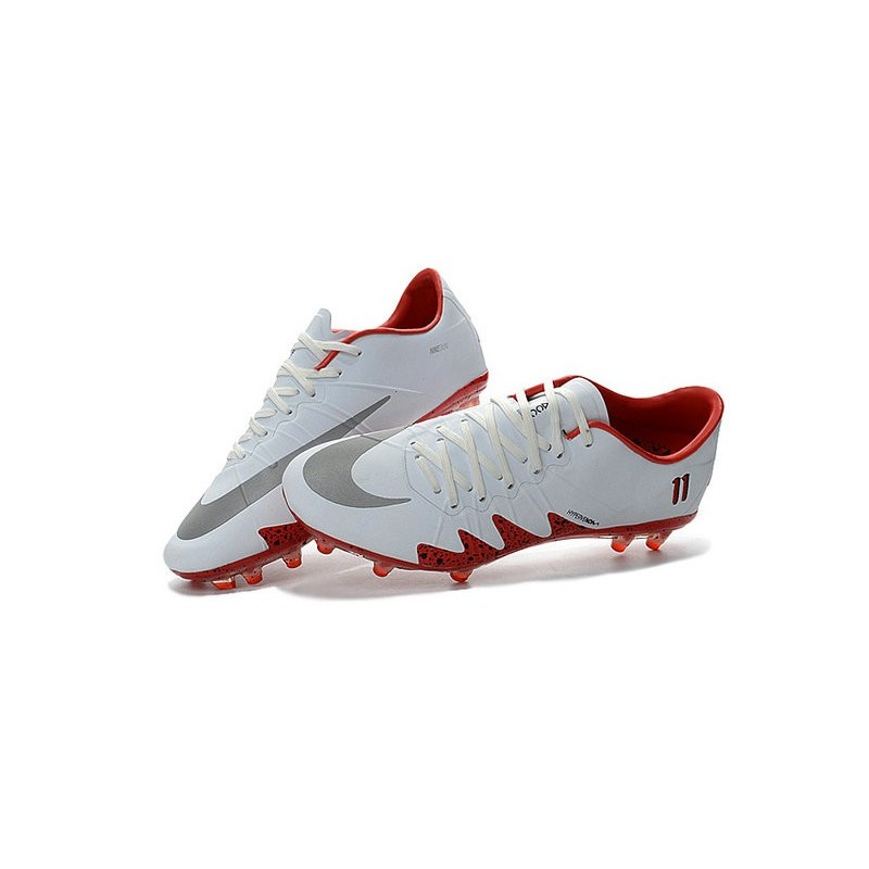 a0af82db4 Scarpe da Calcio Nike Hypervenom Phinish Neymar x Jordan FG Bianco Rosso  Vedi a schermo intero. Precedente · Successivo