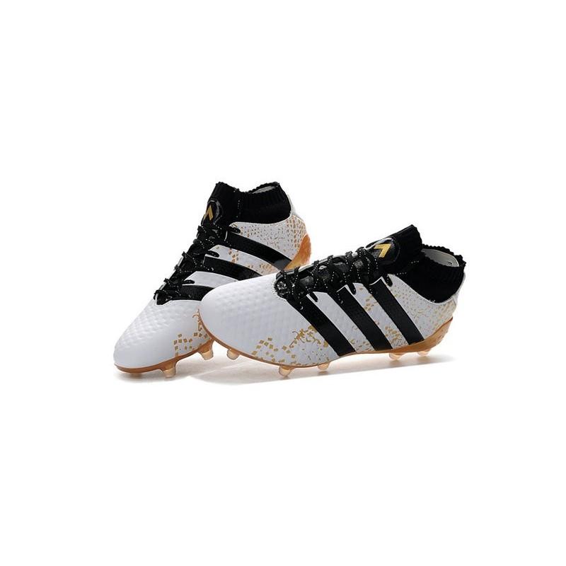half off a8d02 883cc adidas ACE 16.1 FG Scarpa da Calcio Uomo Bianco Oro Nero Vedi a schermo  intero. Precedente. Successivo