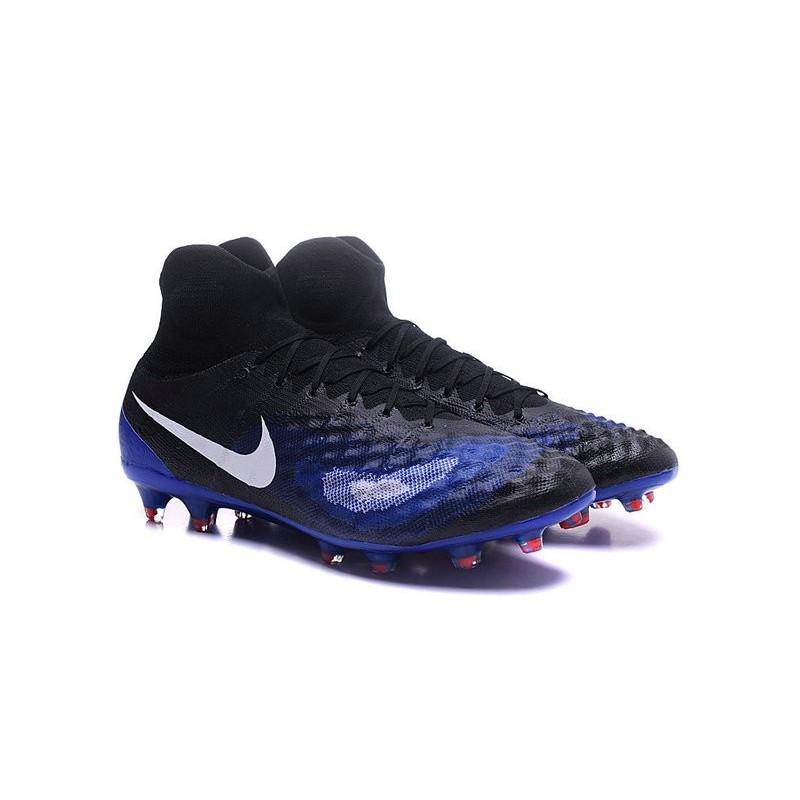 hot sale online ecba2 15081 ... calcio scarpe bianco online 3395wyq 5ae18 7aa17 real nike magista obra  ii fg acc nero blu bianco vedi a schermo intero. precedente