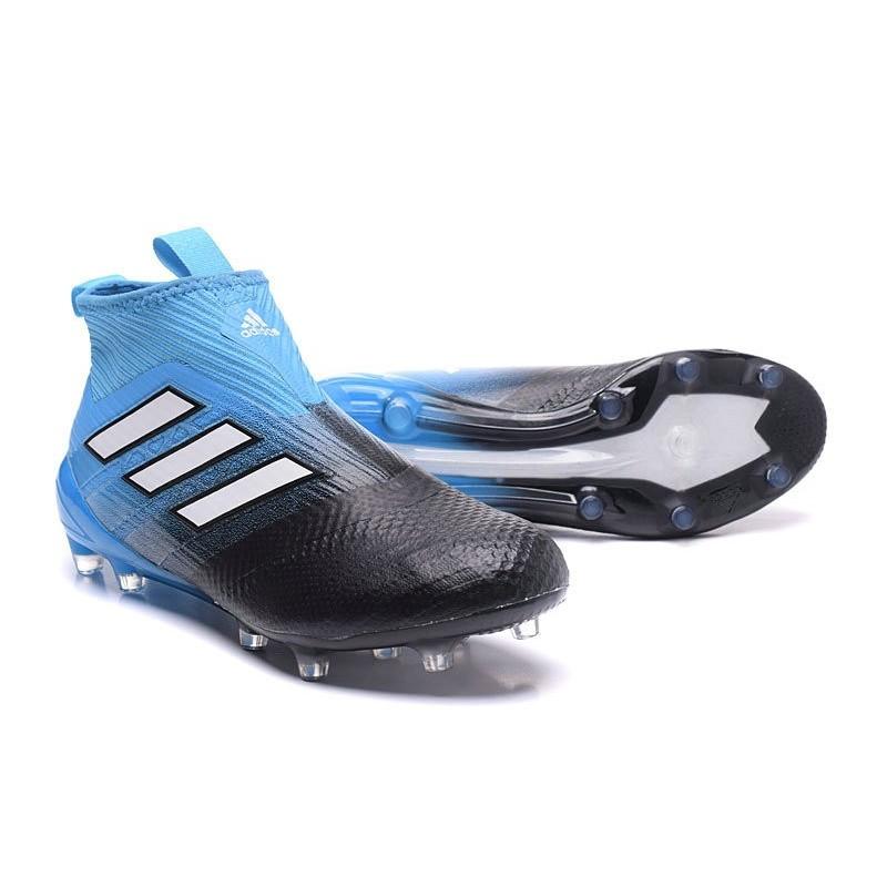 outlet store 0016e b00ec Adidas Fg Purecontrol 17 2017 Nero Blu Ace Calcio Nuovo Scarpe qtFTfW