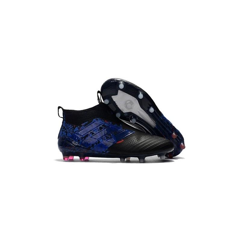new product 77c00 3f658 adidas ACE 17+ PureControl Dragon FG Scarpa da Calcio Uomo - Nero Blu Vedi  a schermo intero. Precedente. Successivo