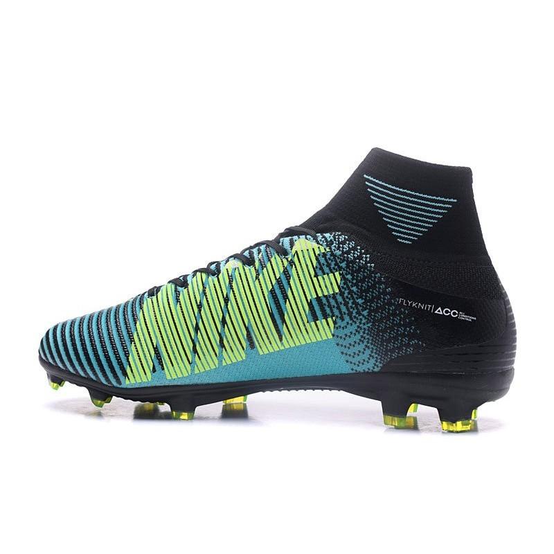 de1f94308 ... amazon nuovo scarpa calcio nike mercurial superfly 5 fg acc blu giallo  nero vedi a schermo