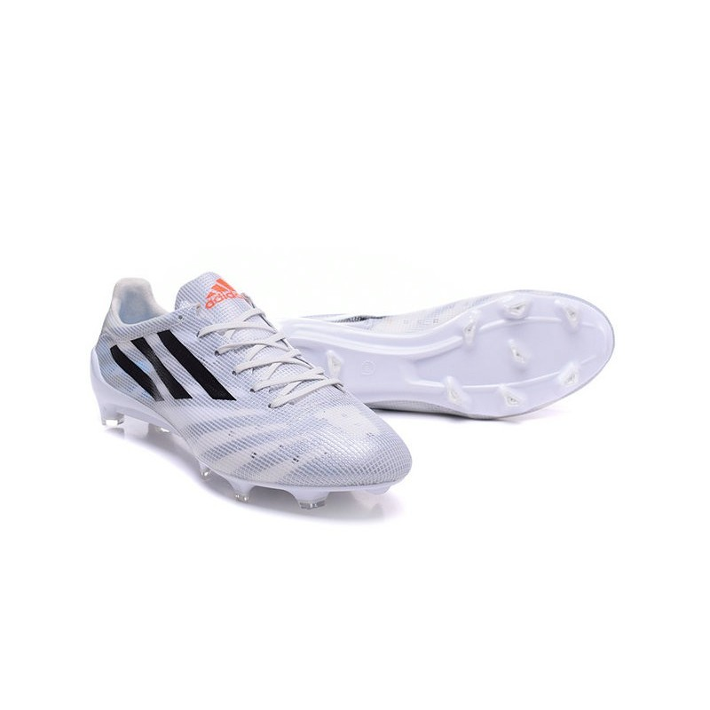 new style 3a4b9 d024f ... cheap da calcio nero f50 scarpa nuovo bianco fg adizero adidas fq5t1  a6df3 43ead