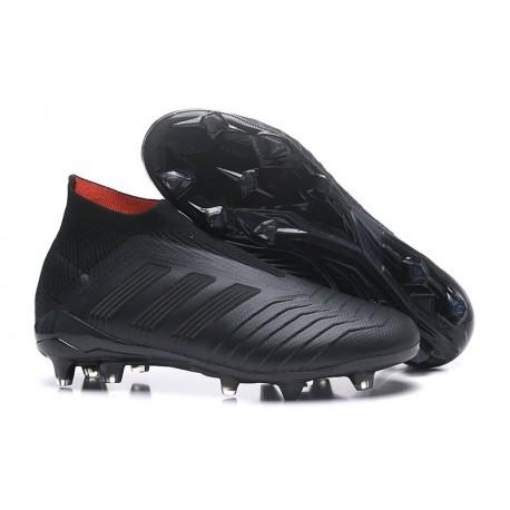new style 6a728 398c4 Adidas Predator 18+ FG Nuovo Scarpe da Calcio - Tutto Nero