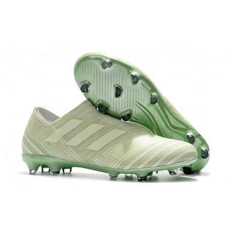 Scarpe adidas Nemeziz Messi 17+ 360 Agility FG - Verde Bianco