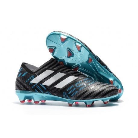Scarpe adidas Nemeziz Messi 17+ 360 Agility FG - Nero Blu Bianco