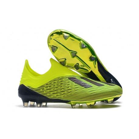 adidas X 18+ FG Scarpa da Calcio - Verde Nero