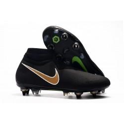Scarpe Nike Phantom Vision Elite DF Anti-Clog SG-Pro Nero Oro