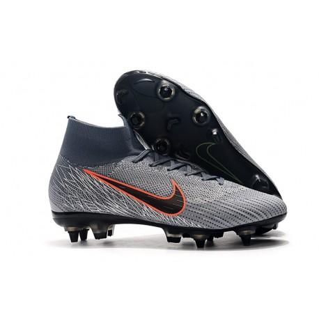 Nike Mercurial Superfly 360 Elite SG Pro Anti-Clog Grigio Arancio