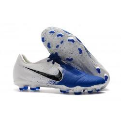 Scarpe di calcio Nike Phantom Venom Elite FG Blu Bianco Nero