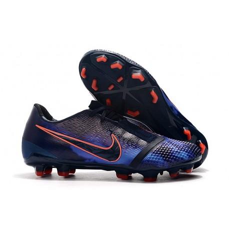 Scarpe di calcio Nike Phantom Venom Elite FG Ossidiana Nero Blu