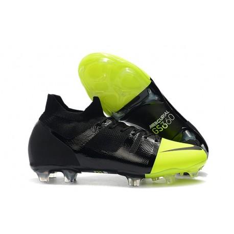 Nike Mercurial Greenspeed 360 FG Scarpe Nero Verde