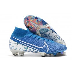 Scarpa Nike Mercurial Superfly VII Elite FG New Lights Blu