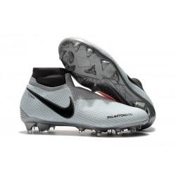 Scarpe Nuovo Nike Phantom Vision Elite DF FG - Grigio Rosso