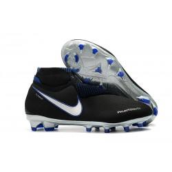 Scarpe Nuovo Nike Phantom Vision Elite DF FG Negro Argento