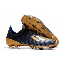Scarpa da Calcio adidas X 19.1 FG Nero Blu Oro