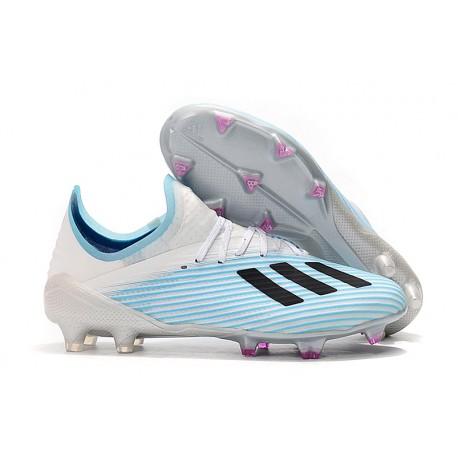 Scarpa da Calcio adidas X 19.1 FG Bianco Blu Nero