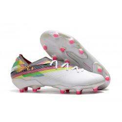 Scarpe Calcio Adidas Nemeziz 19.1 FG Bianco