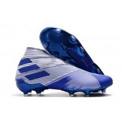 adidas Nemeziz 19+ FG Terreni Compatti Bianco Blu