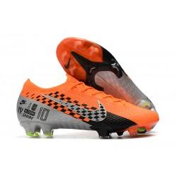 Scarpe Nuovo Nike Mercurial Vapor 13 Elite FG Arancione Grigio Nero
