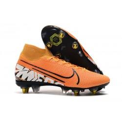 Nike Mercurial Superfly 7 Elite SG Pro AC Arancione Bianco