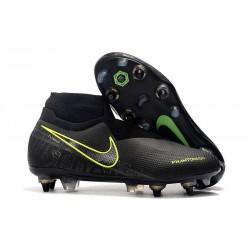 Scarpe Nike Phantom Vision Elite DF Anti-Clog SG-Pro Nero Volt