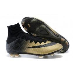 Scarpe da Calcio Nike Mercurial Superfly FG ACC CR7 Cristiano Ronaldo Oro Nero