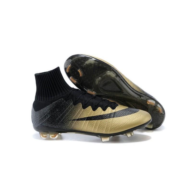 quality design 9f5f8 3ad40 Scarpe da Calcio Nike Mercurial Superfly FG ACC CR7 Cristiano Ronaldo Oro  Nero