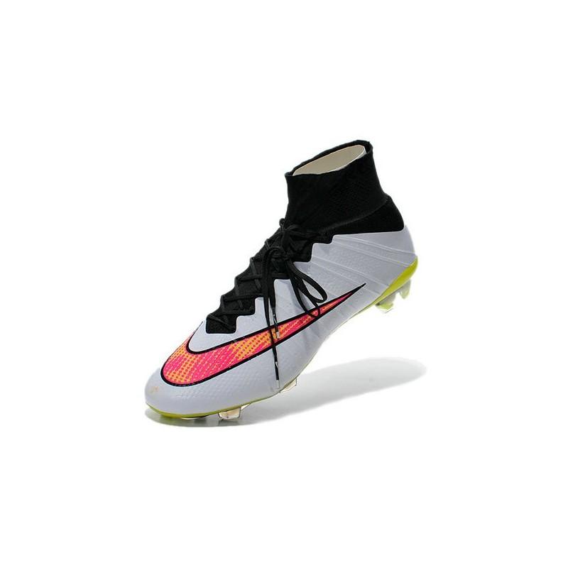 Calcio Mercurial Da Nike Superfly Scarpe Fg Uomo Rosa Nero Acc Bianco bf6yYv7g