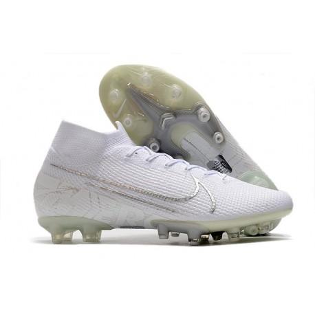 Scarpe Nike Mercurial Superfly VII Elite AG-Pro Bianco