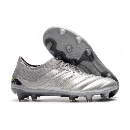 adidas - Copa 20.1 FG Scarpe da Calcio Argento Giallo Solar