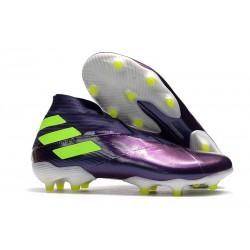Scarpe da Calcio adidas Nemeziz 19+ FG Viola Giallo