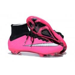Scarpe da Calcio Nike Mercurial Superfly FG ACC Uomo 2015 Rosa Bianco