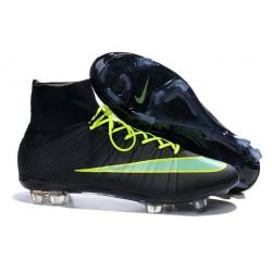 Scarpe da Calcio Nike Mercurial Superfly FG ACC Uomo Nero Verde