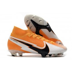 Nike Mercurial Superfly VII Elite Dynamic Fit FG Arancione Laser Nero Bianco