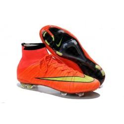 Nike Scrapa Calcio Mercurial Superfly Iv FG Tacchetti Hyper Punch Oro