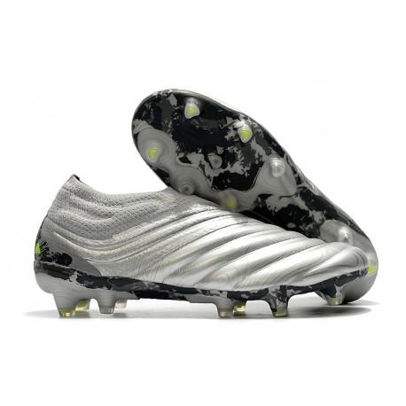 Adidas Scarpe Calcio Copa 20+ FG - Argento Giallo Solar