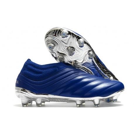 Adidas Scarpe Calcio Copa 20+ FG - Blu Team Royal Argento Metallico