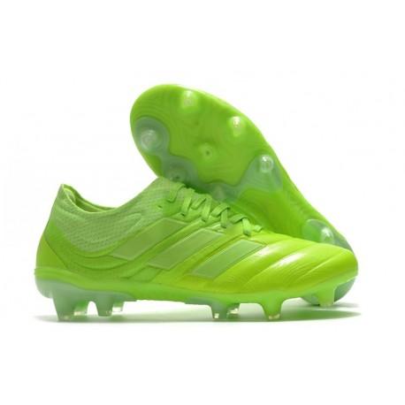 adidas - Copa 20.1 FG Scarpe da Calcio Verde Signal Bianco